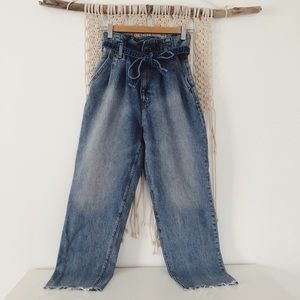 Abercrombie and Fitch paper bag jeans